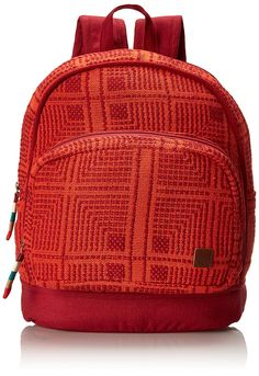 Amazon.com: Roxy Monsoon Backpack, Redwood, One Size: Clothing