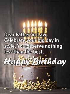 20 Best Birthday Cards For Father In Law Images On Pinterest