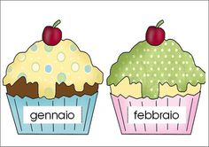 Birthday Cupcakes (in Italian) Student Birthdays, Classroom Birthday, Birthday Charts, Birthday Cupcakes, Teacher Newsletter, Teacher Pay Teachers, Classroom Management, Reuse, Markers