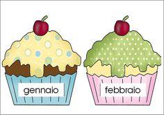 Birthday Cupcakes (in Italian) Cake Chart, Student Birthdays, Birthday Display, Classroom Birthday, Birthday Charts, Birthday Cupcakes, Teacher Pay Teachers, Teacher Newsletter, Classroom Management
