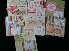 Debra Daam - Chipboard Coaster Calendar