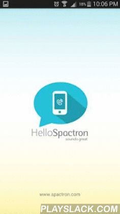 Spactron-International Calls  Android App - playslack.com ,  - Free and cheap calls to Mobile phone & Landline worldwide- Free calls to USA and Canada ( Landline and Mobile)- Cheap international and domestic call rates to mobile & landline - Check cheap call rates in the application- Premium high quality of voice for mobile and landline - Ease of use- Spactron supports 3G and Wi-Fi for free and cheap calls to mobile phone and landline- Customize your caller ID, or choose your number…