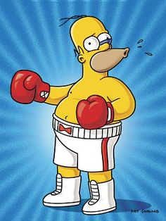 Drederick Tatum's theme song is Time 4 Sum Aksion by Redman. It was the same song chosen by Mike Tyson for his first fight upon his prison release. Simpsons Characters, Simpsons Art, Simpson Wallpaper Iphone, Cartoon Wallpaper, Cartoon Drawings, Cool Drawings, Los Simsons, Looney Tunes Cartoons, Famous Cartoons