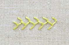 Learn How to Make a Feather Stitch and Its Variations