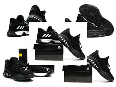 outlet store 125ab 1602e 2017 Authentic adidas Crazy Explosive Low Andrew Wiggins AW Black Anthracite  White Core Black For Sale - Click Image to Close