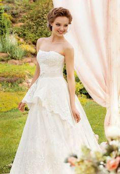 Wedding Dresses by Papilio 2014   bellethemagazine.com