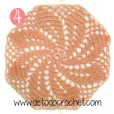 :: Crochet in points - Schemes - Graphics Free Crochet Doily Patterns, Tapestry Crochet Patterns, Crotchet Patterns, Crochet Motifs, Crochet Mandala, Crochet Chart, Crochet Granny, Crochet Designs, Crochet Doilies