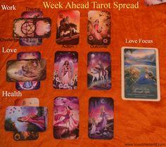 Tarot Spread for the week ahead!