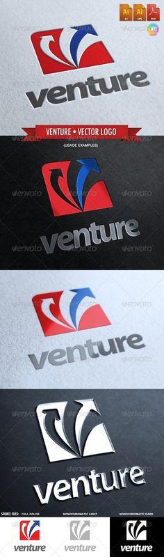 Venture - Vector Logo Template - Vector Abstract