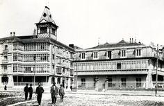 Cátedra de Patrimonio y Arte Navarro. Universidad de Navarra. Pamplona, Old Pictures, Spain, Louvre, Street View, Building, Travel, Old Photography, Antique Photos