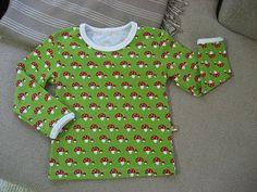 TOSIMUMMO: Tehdääs paita! Peruspaidan huippuhyvät ompeluohjeet