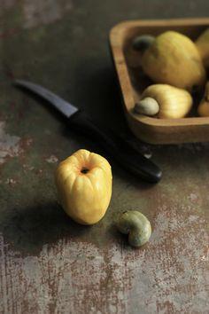 Cashew fruit with cashew nut