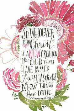2 Corinthians 5:17 ❤