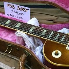 What do you think of the price of this 1958 Gibson Les Paul Burst? Gibson Guitars, Fender Guitars, Guitar Art, Cool Guitar, Vintage Les Paul, Jim Morrison Movie, Les Paul Guitars, Fender Telecaster, Gibson Les Paul