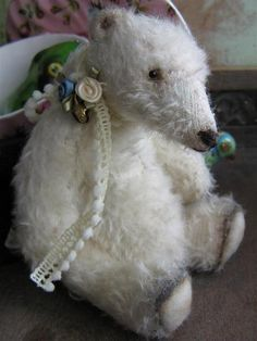 Sewing Pattern for little Polar bear Maritimus by theoldpincushion