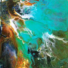 Acrylic on Yupo by Catherine Jeltes