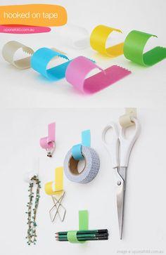 washi tape hooks