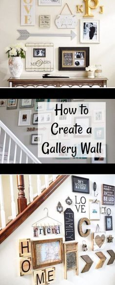Photo Wall Ideas - 37 Picture Gallery Wall Layout Ideas For The Perfect Family Photograph Accent Wall - Gallery Wall Ideas Family Pictures On Wall, Family Photos, Wall Decor Pictures, Gallery Wall Layout, Gallery Walls, Wal Art, Family Wall Decor, Family Wall Collage, Home And Deco