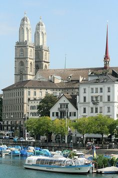 Zurich, Switzerland - I remember visiting this beautiful church