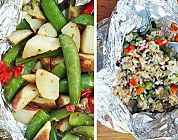 5 Super Easy Foil Pack Ideas For Grilled Vegetables