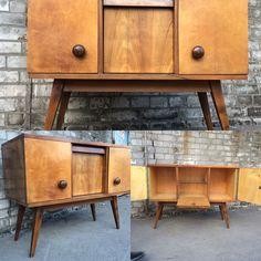minimalist dresser Minimalistyczna Komódka PRL Vintage 430€