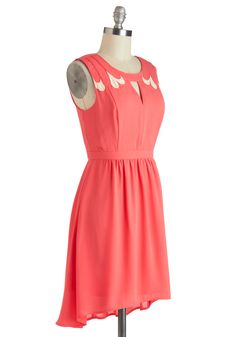Strawberries and Cream Dress | Mod Retro Vintage Dresses | ModCloth.com