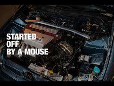 Honda Civic - Started Off by a Mouse Bts Youtube, Civic Eg, Honda Civic, Goals