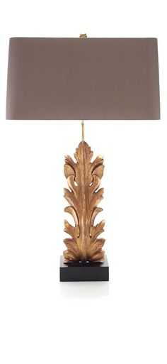 Table Lamps, Luxury Designer Gold Gilded Acanthus Lamp, so beautiful, one of…