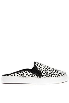 ASOS Leather Mule Sneakers, $84.66, available at ASOS. From - 12 Flat Mules To Elevate Your Style #refinery29  http://www.refinery29.com/mules#slide1