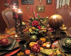 Kristen's Creations: Share Your Creations Party #6 And The Rest Of My Fall Patio