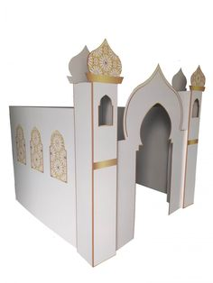 masjid white back Eid Eid, Make Your Own, Make It Yourself, Play Houses, Wall Decals, Bookends, Guest Room, This Is Us, Toddler Bed
