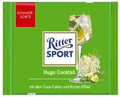 RITTER SPORT Fake Schokolade Hugo Cocktail (von Stefan Keks Alexander)