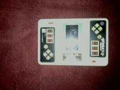 Entex Color Electronic Football 4 Video Game Handheld  1980 Vintage