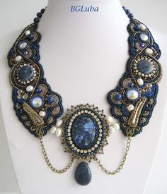 Last Tale of Scheherazade . Bead  Embroidered by BeautyGlamourLuba, $360.00