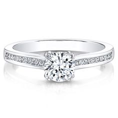 4d933ed440be8 19 Best Diamond Engagement Ring images in 2019 | Round diamond ...
