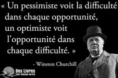Winston Churchill, Wisdom Quotes, Life Quotes, Image Citation, Plus Belle Citation, French Quotes, Positive Attitude, Motivation, Design Quotes