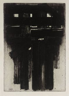 Pierre Soulages, 1956