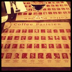 Coffee Parisien in St Germain for the best Parisien cheeseburger and some US presidential trivia on the side Presidential Trivia, Places To Eat, Paris, Drink, Coffee, Coffee Cafe, Beverage, Drinks