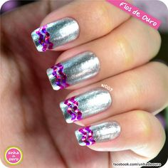 Fios de Ouro (fitinhas para as unhas)! #nail #unhas #fiosdeouro - www.unhadeouro.com.br