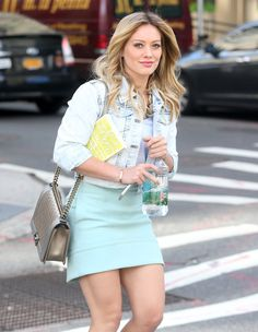 Queen. | Hilary Duff Was The Walking Queen Of 2014