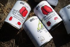 ATI vegetable cans by creativeBydefinition