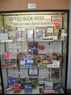 114 Best Banned Books Week Displays images in 2019 | Books