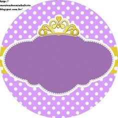 <center>Kit digital grátis para imprimir Princesa Sofia Disney</center>   Montando minha festa