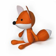 Fox Plushie Sewing Pattern