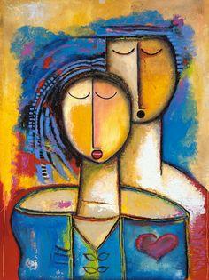 The Modern Art Movements – Buy Abstract Art Right Abstract Canvas, Canvas Art, Cuban Art, People Art, Portrait Art, Art Oil, Love Art, Painting Inspiration, Modern Art
