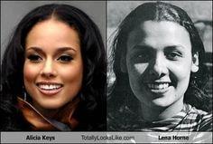 Alicia Keys Totally Looks Like Lena Horne
