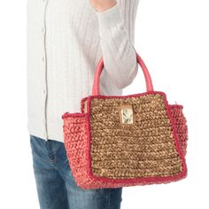 rougeloup crochet bag Inspiracion ✿⊱╮Teresa Restegui http://www.pinterest.com/teretegui/✿⊱╮