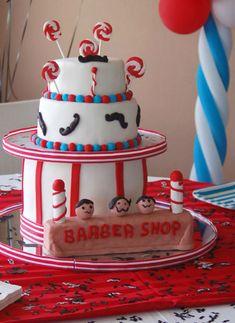 BARBER SHOP BIRTHDAY PARTY IDEAS ~ MARVELOUS MUSTACHE BASH