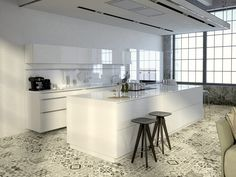 Modern White Kitchen Wood Floor 36 beautiful white luxury kitchen designs (pictures) that are the