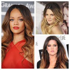 Fun and Colorful Ombre Hair!